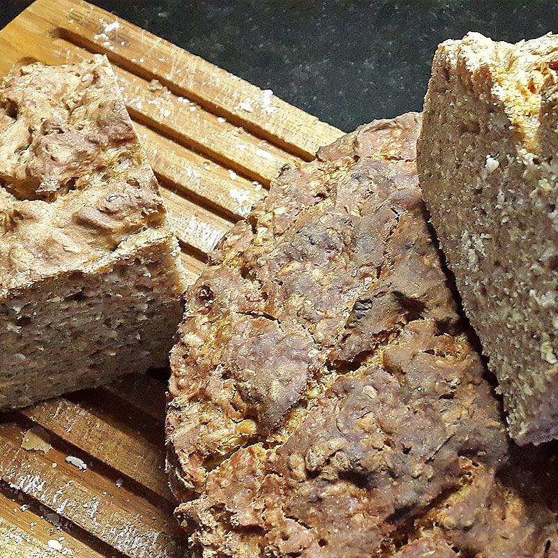 Brot portionieren und einfrieren
