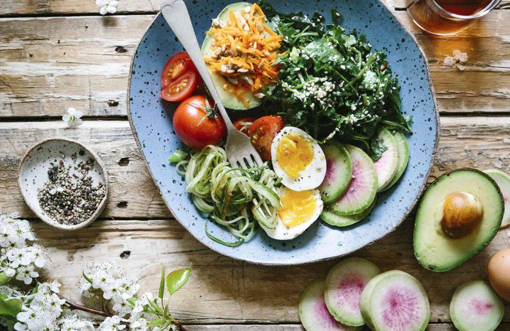 gesunde-Mahlzeit-Ernährungssachen