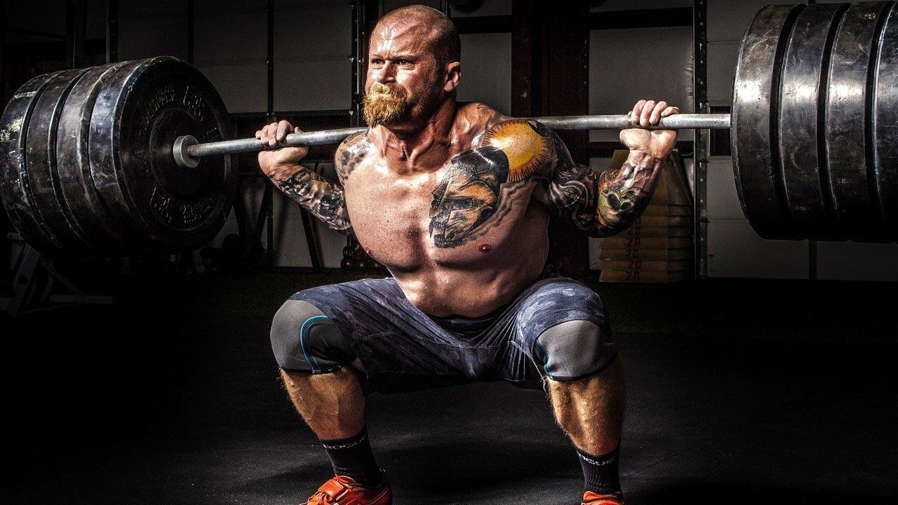 schwere Muskeln